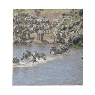 Kenya, No Water No Life Mara River Expedition, 3 Notepad