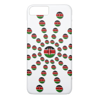 Kenya Patriotic national election motto design iPhone 8 Plus/7 Plus Case