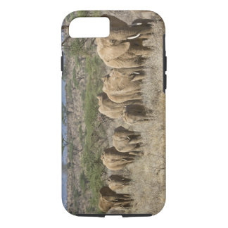 Kenya, Samburu National Reserve. Elephants iPhone 8/7 Case