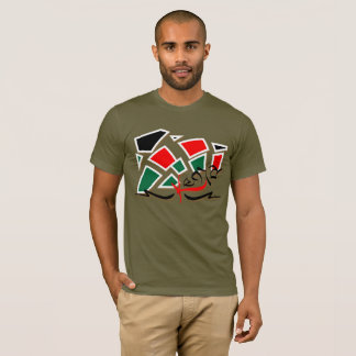 Kenya - Scattered Colors T-Shirt