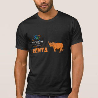 Kenya Volunteer T-shirt - Volunteering Solutions