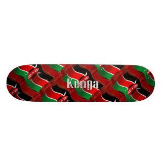 Kenya Waving Flag Skateboard