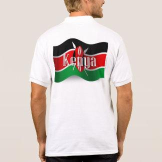 Kenya Waving Flag T-shirts