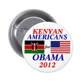 Kenyan americans for obama button