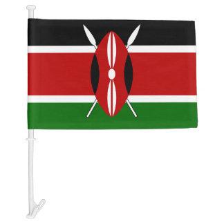 Kenyan flag car flag