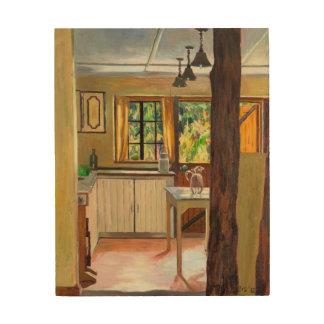 Kenyan Kitchen 2012 Wood Print