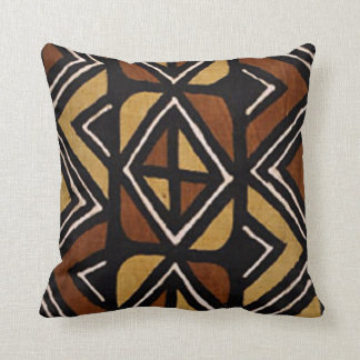 Kenyan Mud Cloth Pattern #2 Pillow