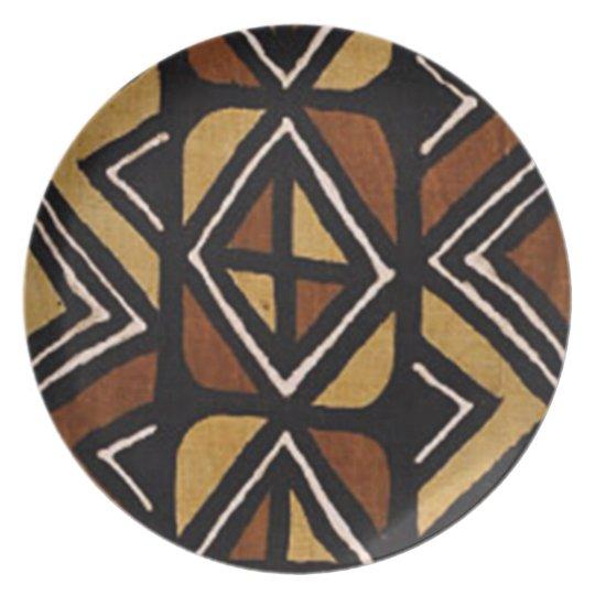 Kenyan Mud Cloth Pattern #2 Plate