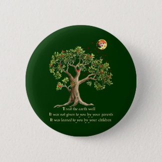 Kenyan Nature Proverb 6 Cm Round Badge