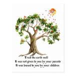 Kenyan Nature Proverb Post Cards