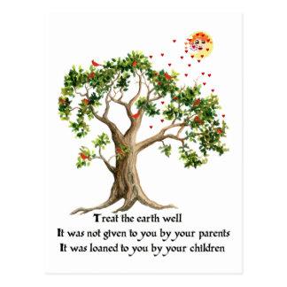 Kenyan Nature Proverb Postcard