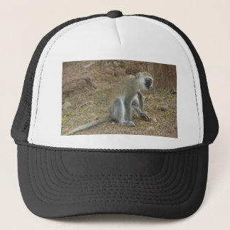 Kenyan Vervet Monkey Cap, African Safari Collectio Trucker Hat