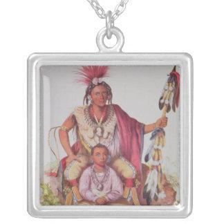 Keokuk or 'Watchful Fox', Chief of the Sauks Custom Jewelry