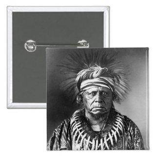 Keokuk ~ Sauk Chief 1847 15 Cm Square Badge