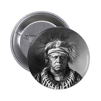 Keokuk ~ Sauk Chief 1847 6 Cm Round Badge
