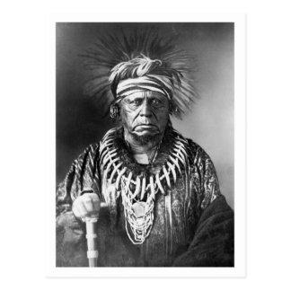 Keokuk Sauk Chief 1847 Post Card