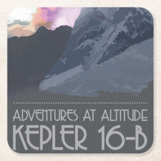Kepler 16-b Space Coasters