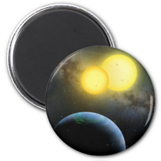 Kepler-35 6 Cm Round Magnet