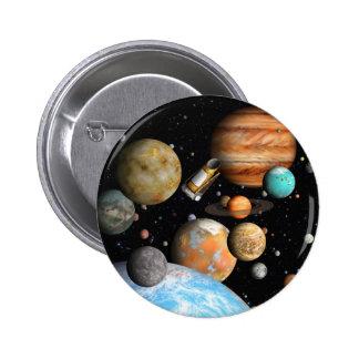 Kepler's Worlds 6 Cm Round Badge