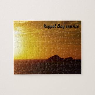 Keppel Bay sunrise jigsaw puzzle