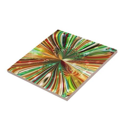 Keramik Fliese ``Cristall Flower´´ Tiles