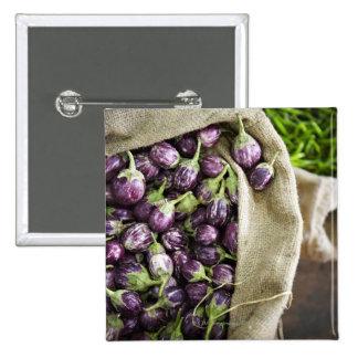 Kerelan Eggplant 15 Cm Square Badge