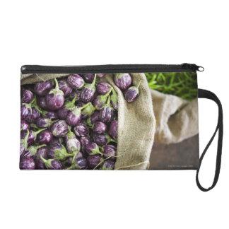 Kerelan Eggplant Wristlet Clutch