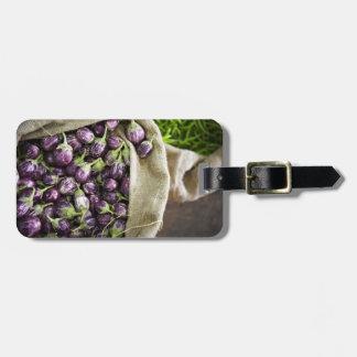 Kerelan Eggplant Luggage Tag