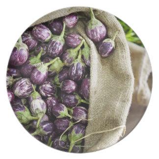 Kerelan Eggplant Party Plate