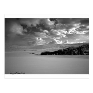 Kergord Shetland Postcard