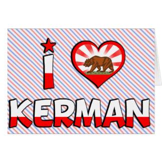 Kerman, CA Greeting Card