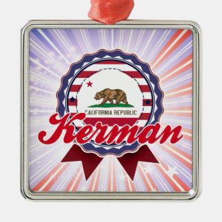 Kerman, CA Christmas Ornaments
