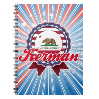 Kerman, CA Note Books