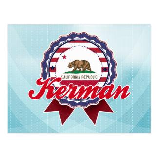 Kerman, CA Post Card