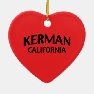 Kerman California Ceramic Heart Decoration