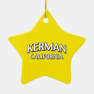 Kerman California Ceramic Star Decoration