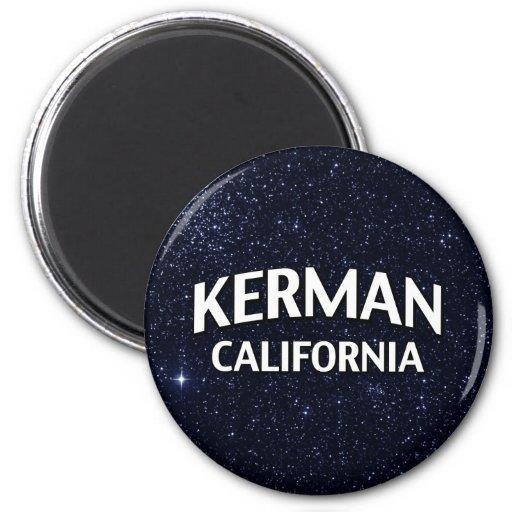 Kerman California Fridge Magnet