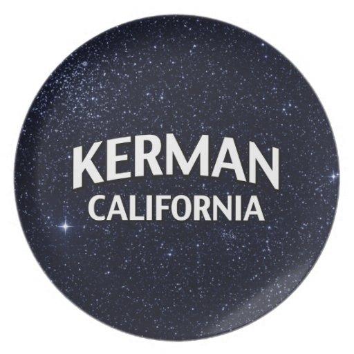Kerman California Party Plates