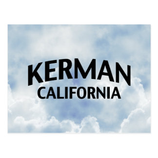 Kerman California Postcard