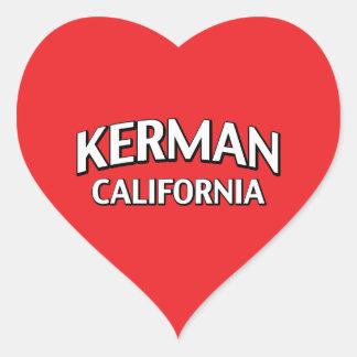 Kerman California Heart Sticker