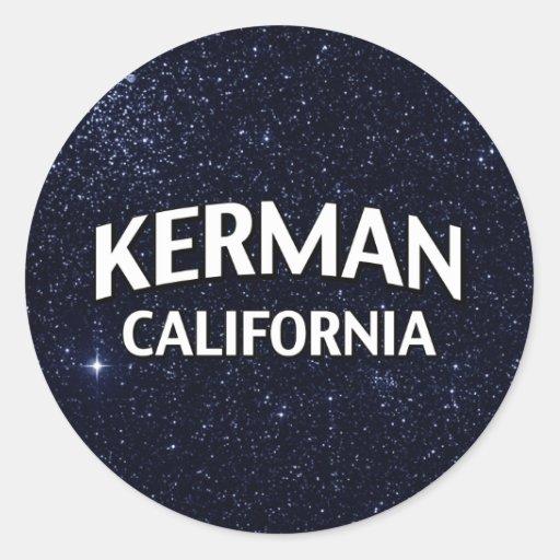 Kerman California Sticker