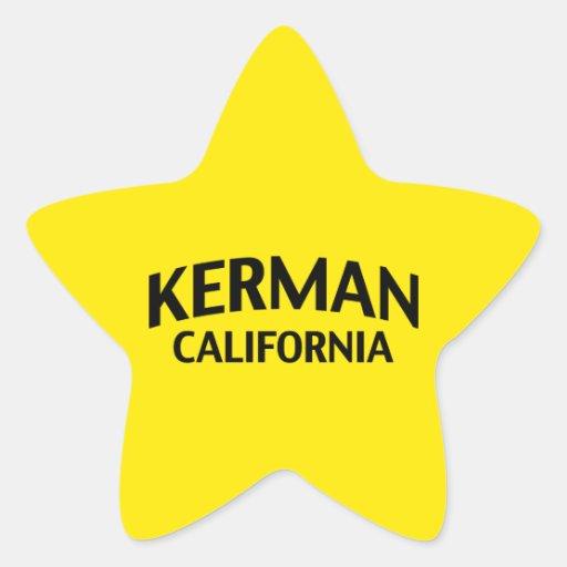 Kerman California Star Sticker