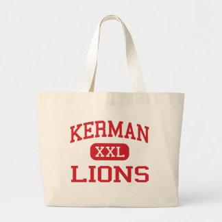 Kerman - Lions - High School - Kerman California Canvas Bags