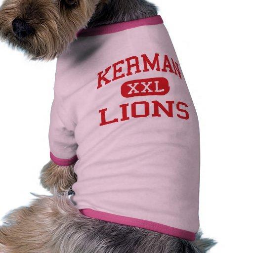 Kerman - Lions - High School - Kerman California Doggie Tshirt