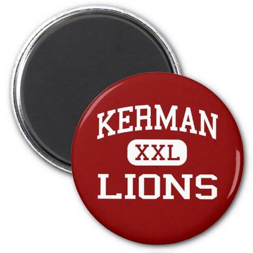 Kerman - Lions - High School - Kerman California Refrigerator Magnets