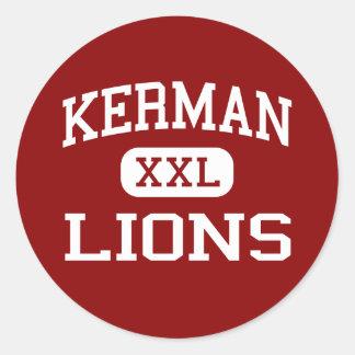 Kerman - Lions - High School - Kerman California Classic Round Sticker