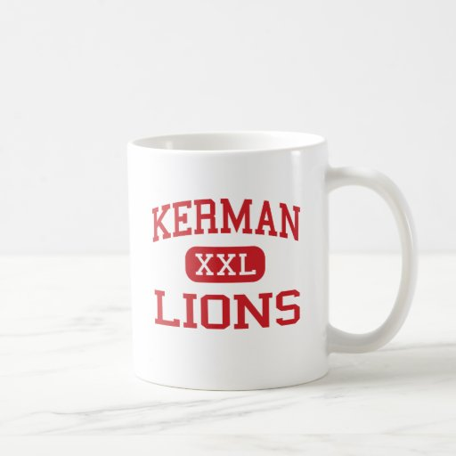 Kerman - Lions - Middle School - Kerman California Coffee Mugs