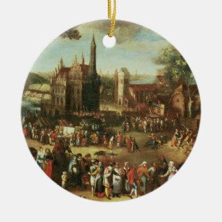 Kermesse at Avdenarde Christmas Ornament