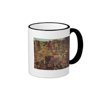 Kermesse with Theatre and Procession Ringer Mug