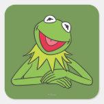 Kermit the Frog Square Sticker